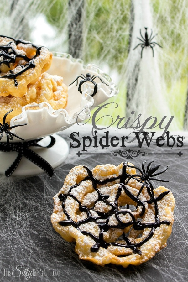 spider web funnel cakes