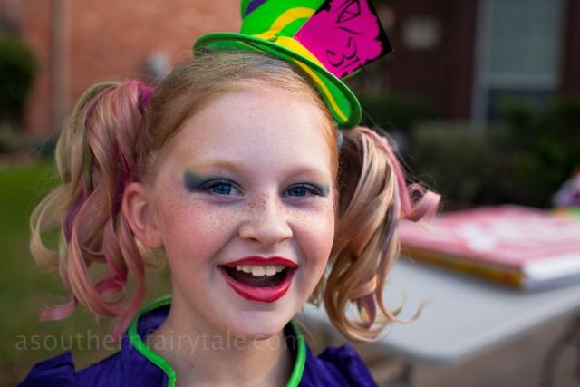 Mad Hatter Halloween Costume for girls