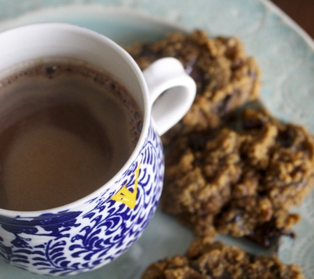 paleo and gluten free friendly cocoa and cookies