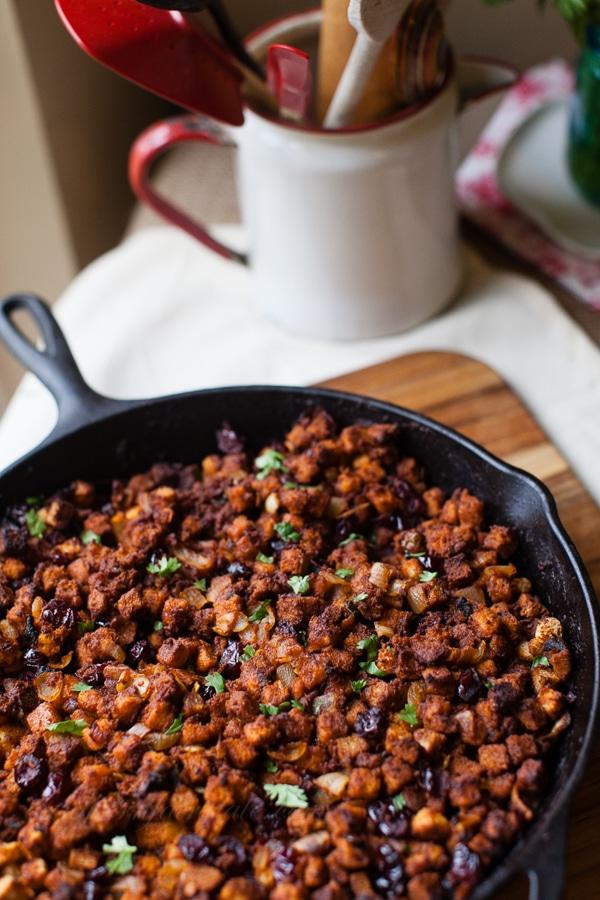 Thanksgiving dressing recipe with chorizo