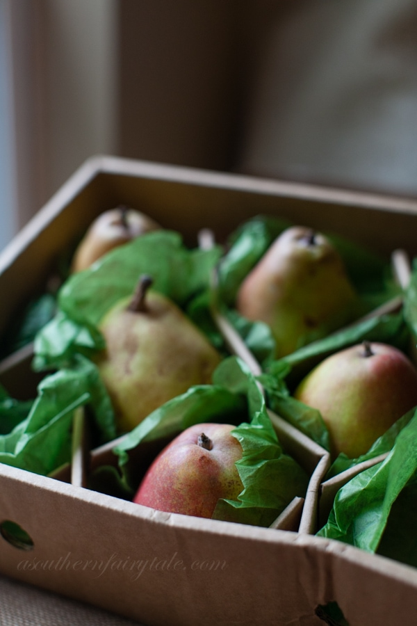 harry & david organic royal riviera pears