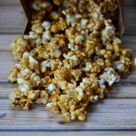 Homemade Caramel Corn: Growing up Gabel