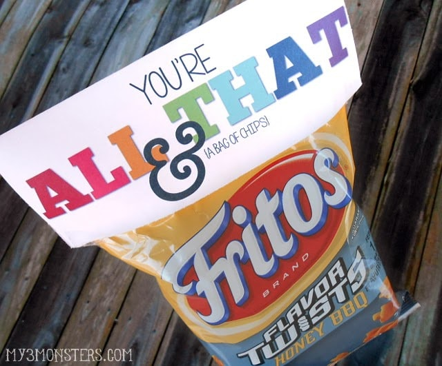 all that and bag of chips valentines