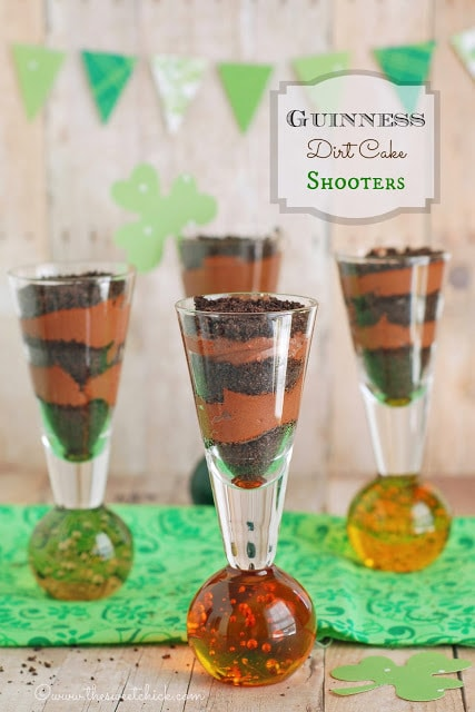 Guinness Dirt Cake Shooters | The Sweet Chick