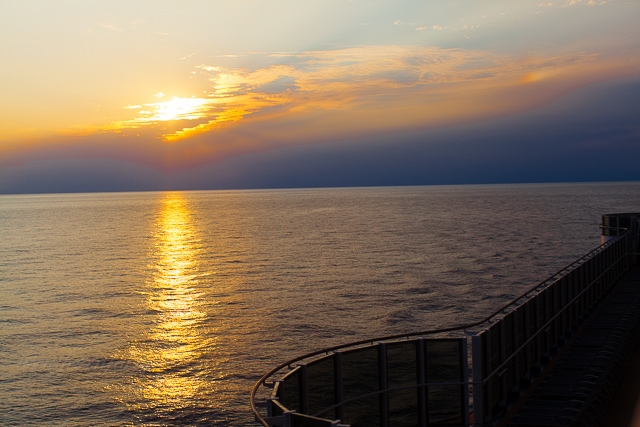 sunsets from the Carnival Magic