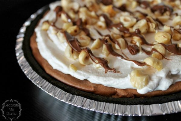 Nutella Cream Pie | Decorate Me Diana