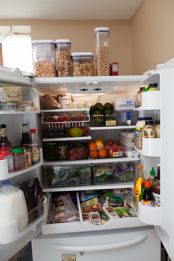 The Matthews Family Fridge | 10 Things In My Fridge Series on Aggies Kitchen