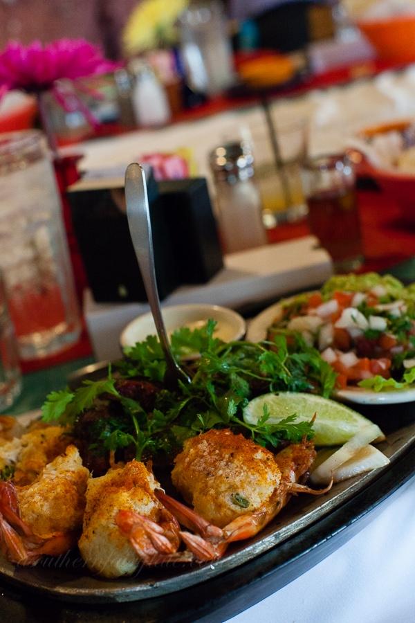 crabcake stuffed shrimp at pappadeauxs