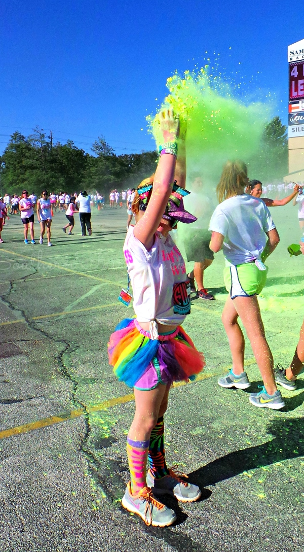 Color Fun Fest Houston | A Southern Fairytale
