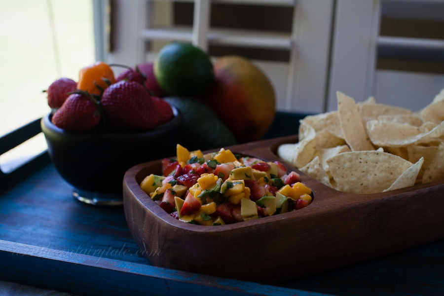 Mango, Avocado, Habanero, Strawberry Salsa | A Southern Fairytale