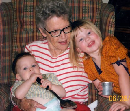Granny, Monkey, and Princess