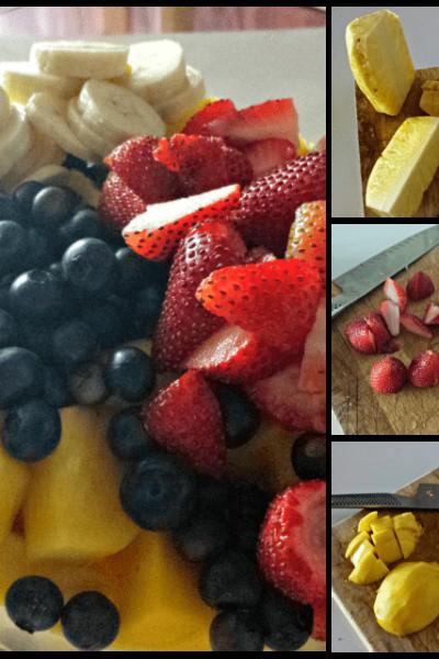 Honey Lime Glazed Fruit Salad | Honest and Truly