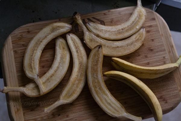 cinnamon sugar bananas