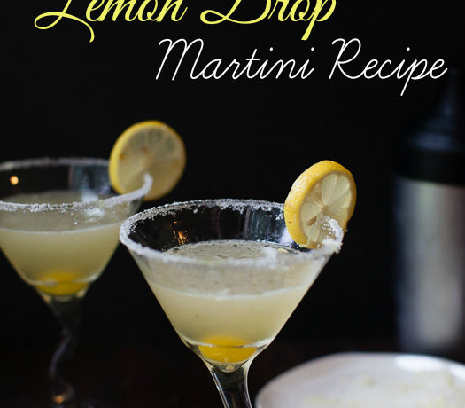 The Perfect Lemon Drop Martini Recipe