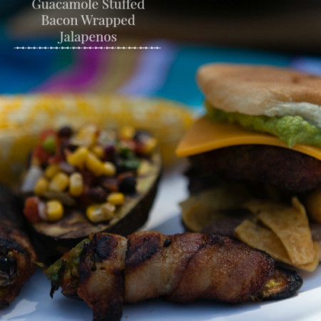 guacamole stuffed bacon wrapped jalapenos