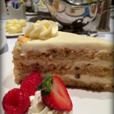 Italian Cream Cake at Moody Gardens