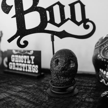 Carved Avocado Skull