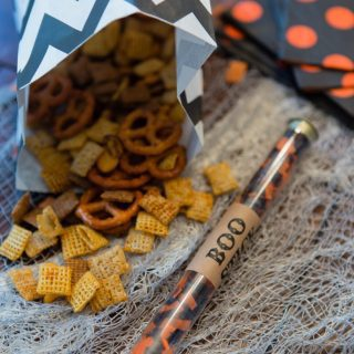 Devilishly Good Spicy Chex Mix