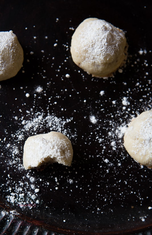 snowball crunch cookies