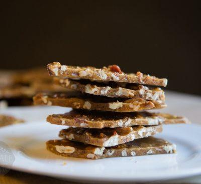 Crunchy, Salty, Delicious Bacon Pecan Brittle