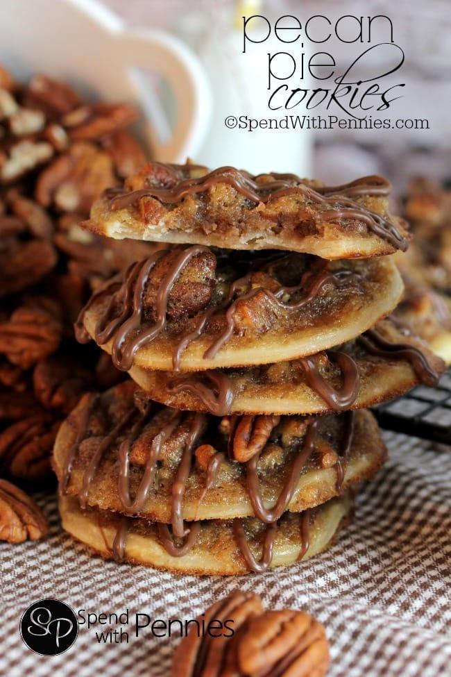 Pecan Pie Cookies from Spends with Pennies