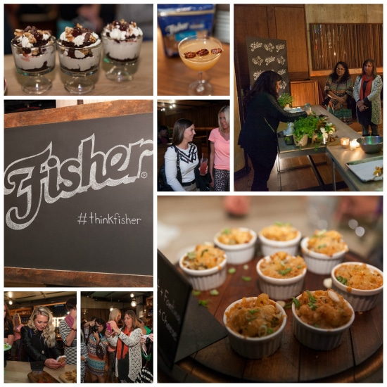 fisher nuts nyc event collage