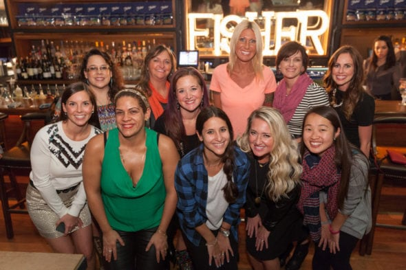 Fisher Nuts ambassadors at Butter rstaurant in NYC