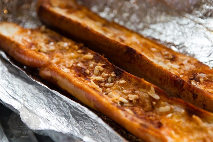 Overnight Garlic Bread