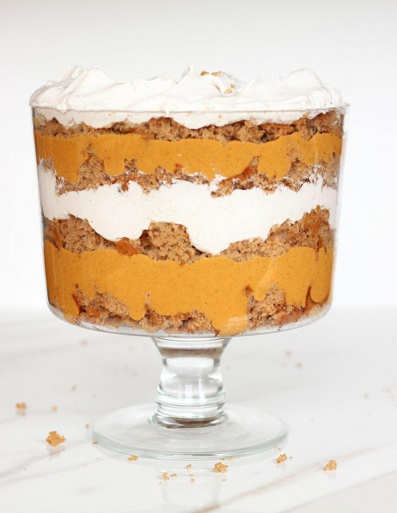 Pumpkin Butterscotch Trifle from Gold Lining Girl