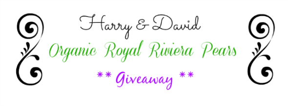 Harry and David Royal Riviera Pear give away