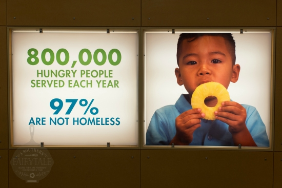 The Houston Food Bank serves 800,000 people each year