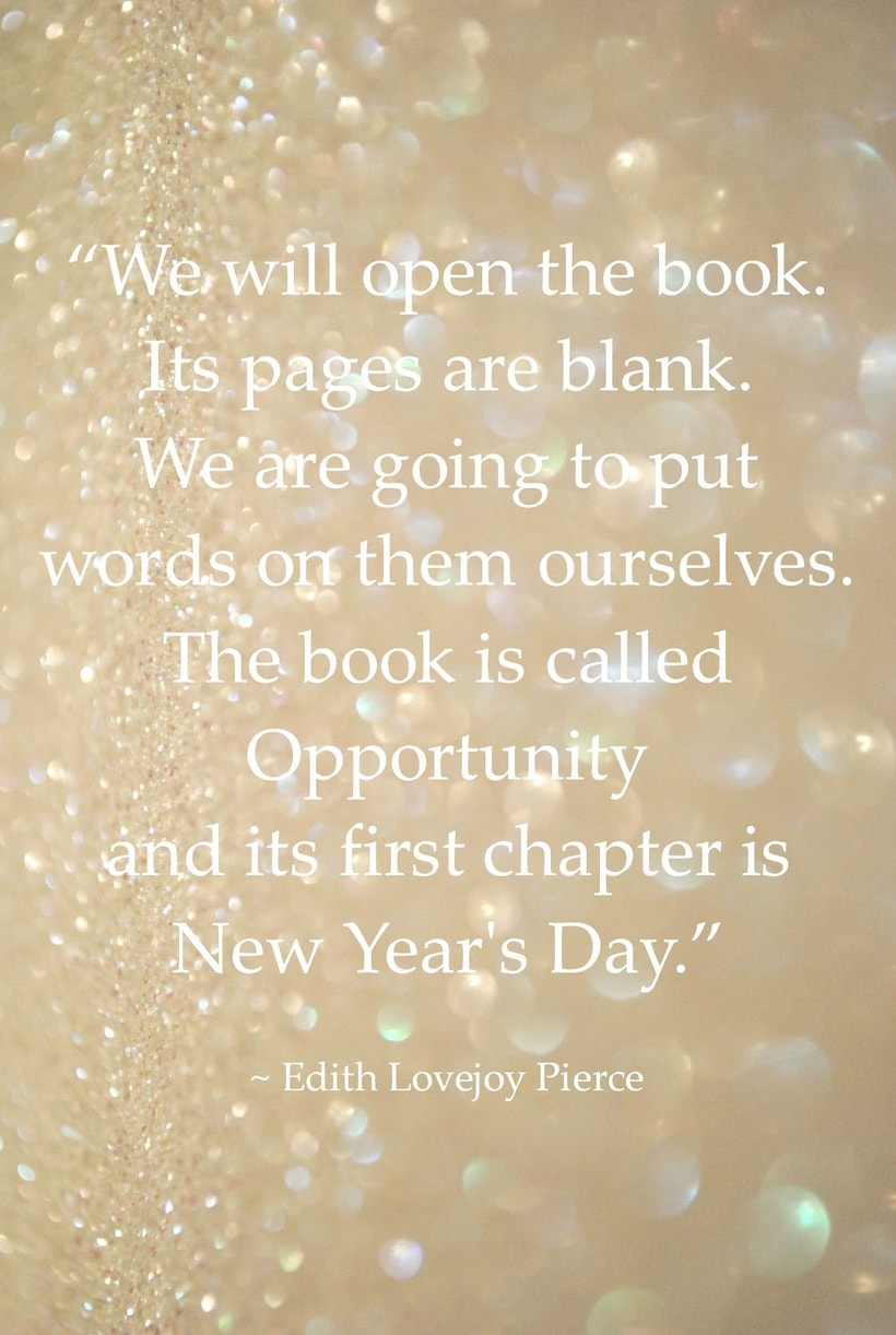 Here's to Blank Pages and Hope