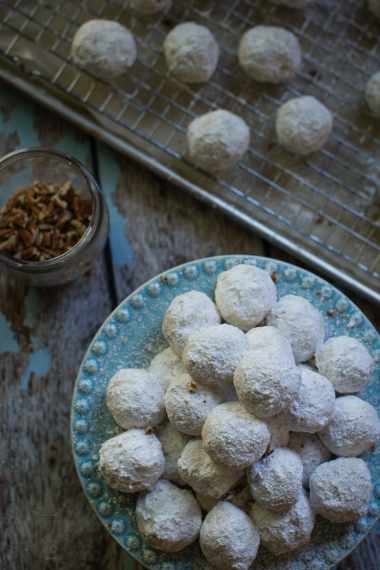 Texas Pecan Sandies are a buttery, nutty, delicious holiday treat