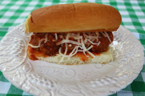 Mini Meatball Subs from The Freshman Cook