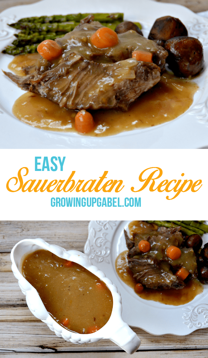 Easy Sauerbraten from Growing Up Gabel