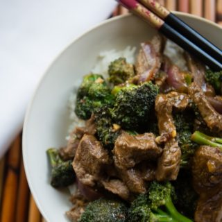 Easy Spicy Beef with Broccoli Stir Fry