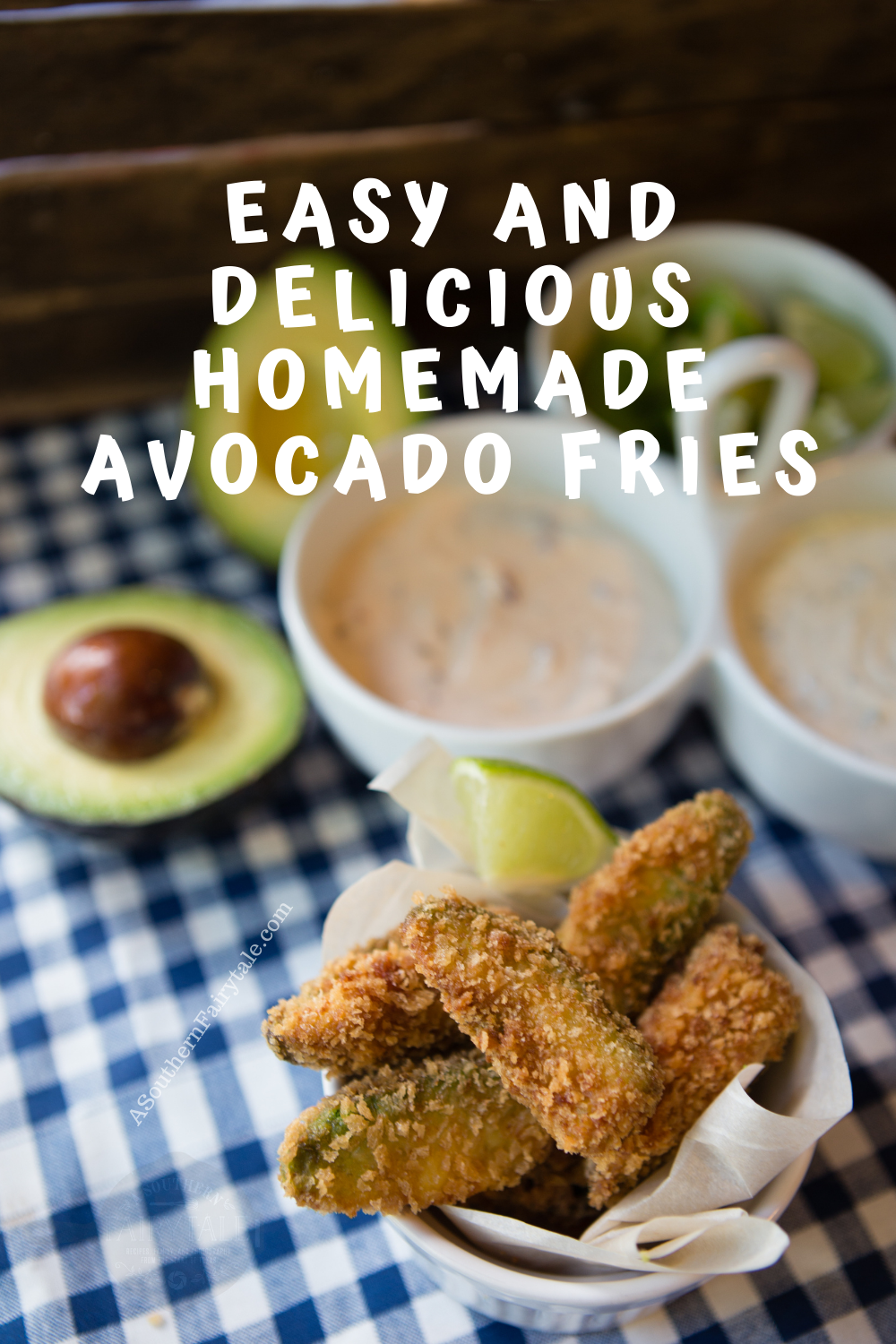 easy and delicious homemade avocado fries|asouthernfairytale.com