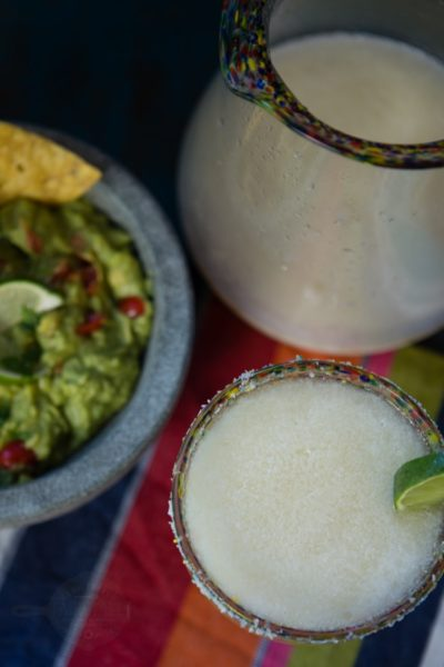 frosty homemade frozen margaritas | A Southern Fairytale
