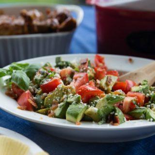 The Triple 'B' Avocado Tomato Summer Salad