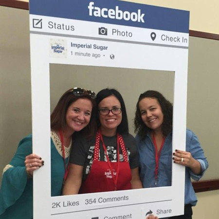 Picture with KiKi and Kelley from Mixed Conference
