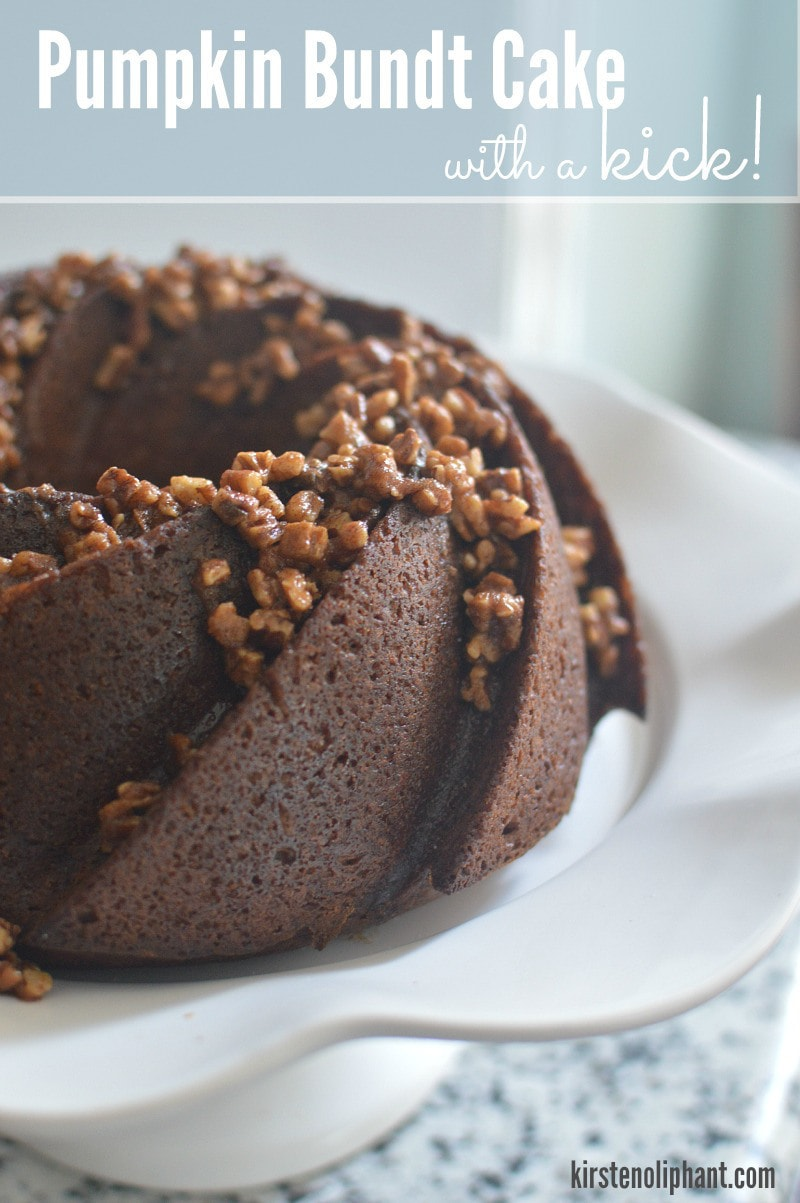 Pumpkin Bundt Cake with a Kick | Kirsten Oliphant