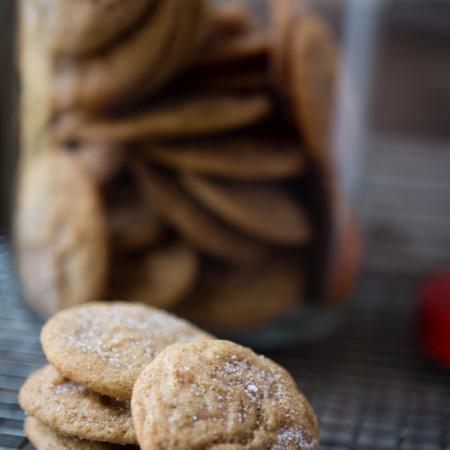 Cinnamon and Sugar Snickerdoodle Cookies | A Southern Fairytale