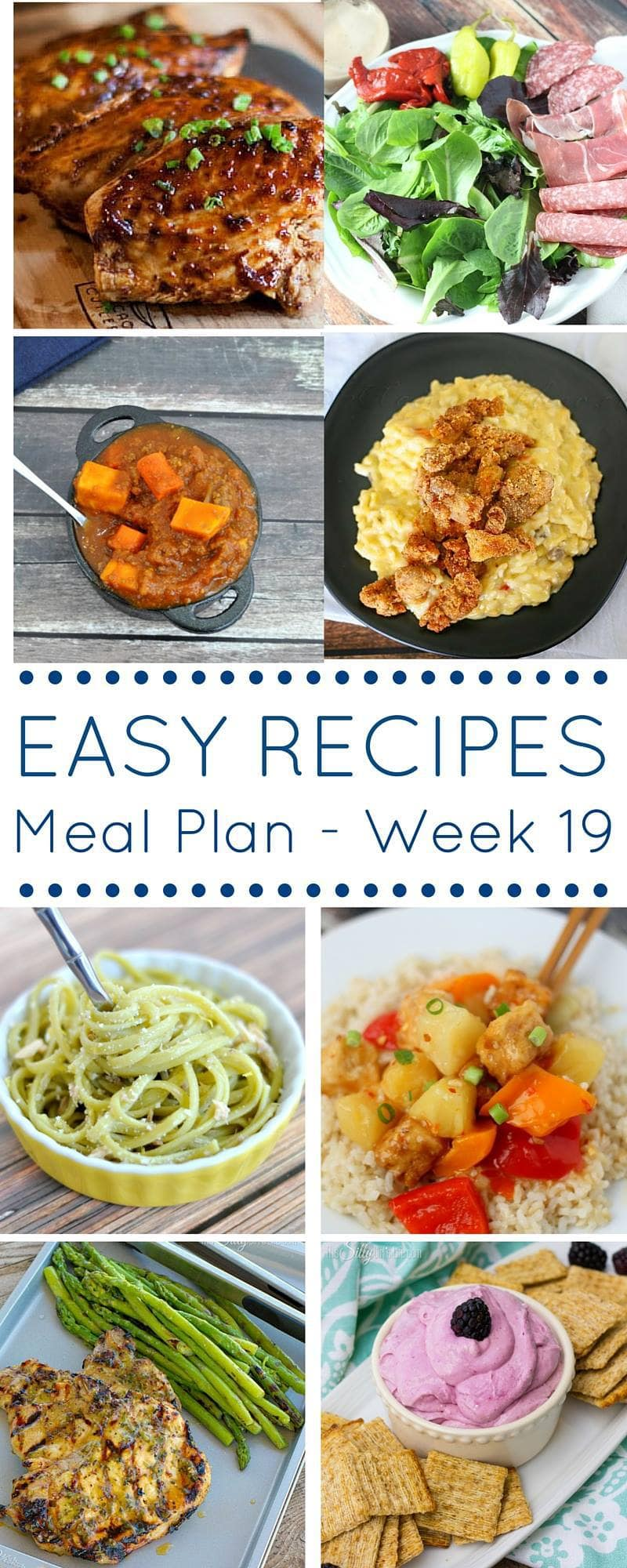 Recipes and Weekly Meal Planning to Make Your Life Easier