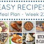 easy weekly meal planning recipes