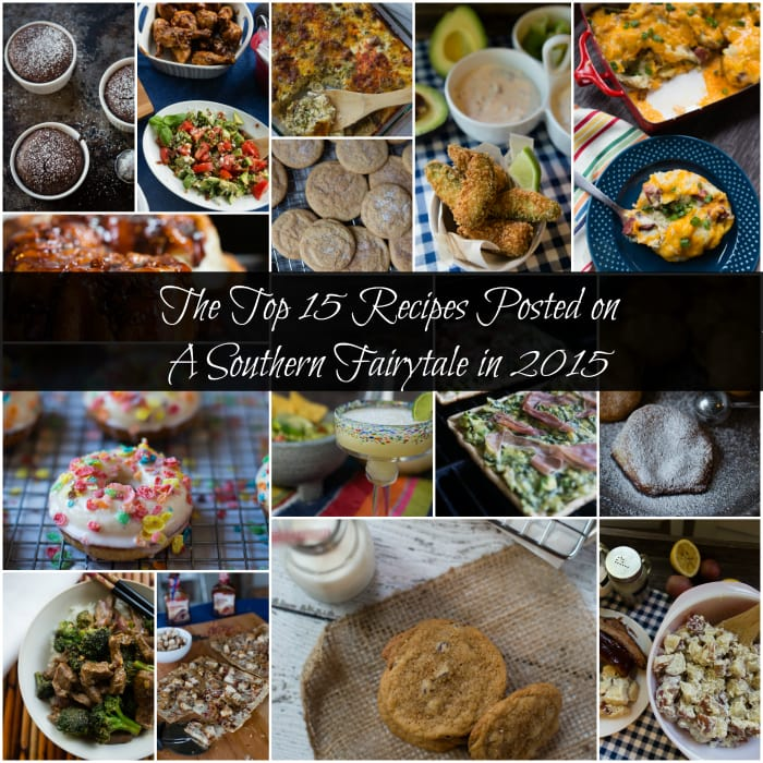 reader's favorite recipes in 2015