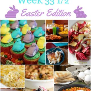 easter week meal plan