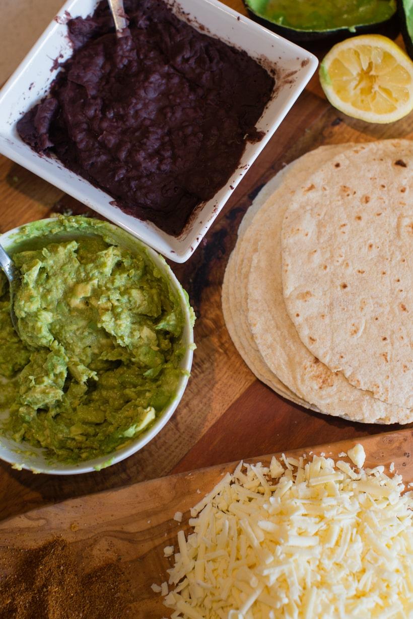 cheesy avocado quesadilla recipe