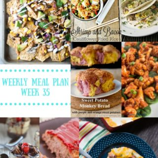 meal plan week 35