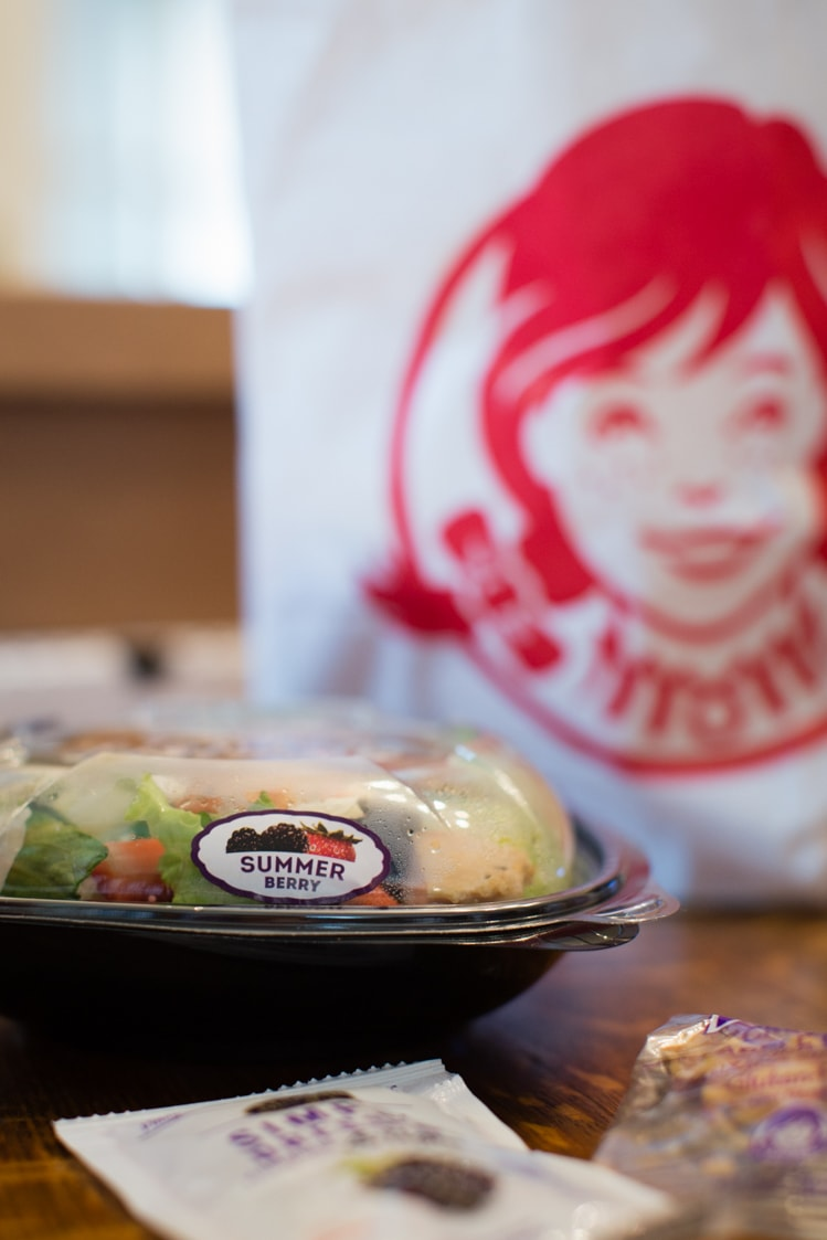 Wendy's Summer Berry Salad