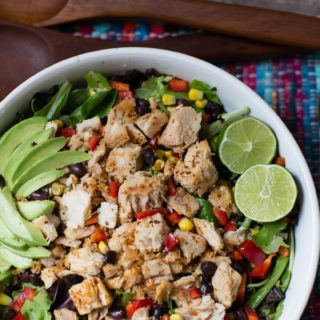spicy blackened tuna salad | A Southern Fairytale